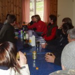 Raj-Raj stund och livliga diskussioner ;-)
