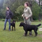 Isac och matte Annica, Peter med matte Lena
