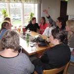Ewa, Sussie, Gunilla, Jessica, Birgitta, Inger, Birgitta S, Anette och Lena